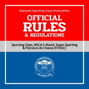 Updated NSCA Rule Books Now Posted