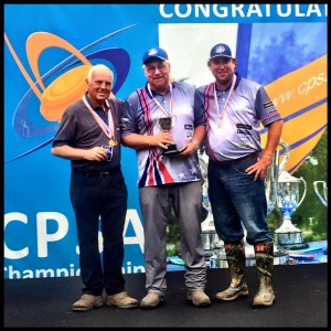 USA Sporting Clays Team Earning Medals at World English
